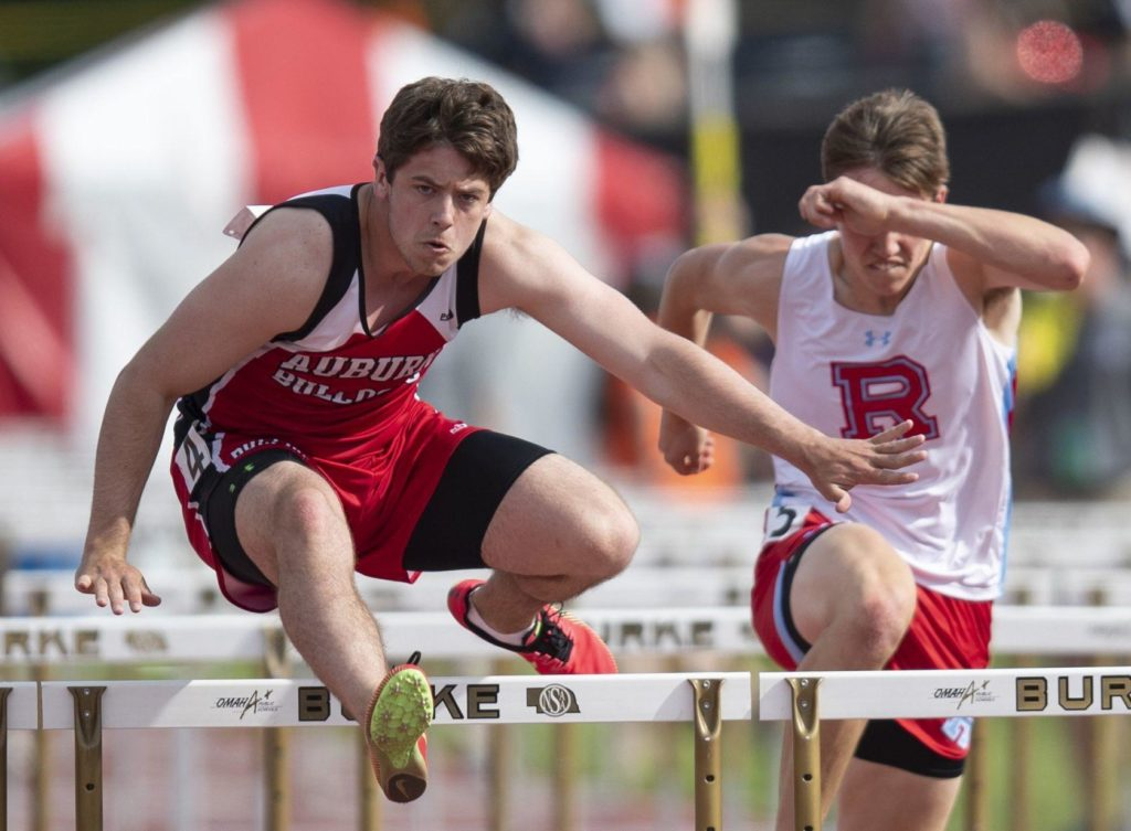 Nebraska high school state track meet results, May 17