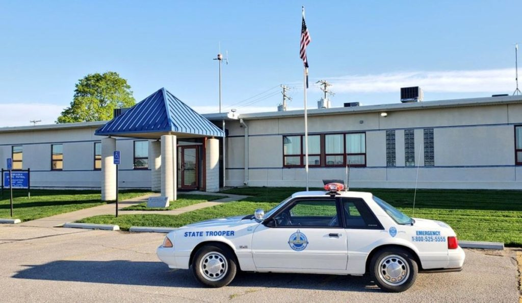 Watch out: A classic Ford Mustang State Patrol car could pull you over