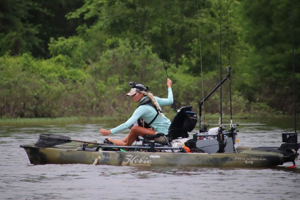 Winning Hobie Bass Open Series 'surreal' for Weeping Water native Kristine Fischer