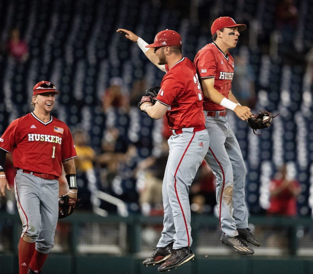 Nebraska baseball clinches third Big Ten title game appearance with victory against Michigan