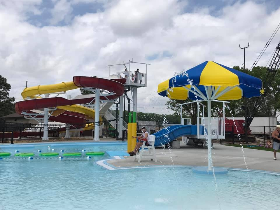 Fairbury Municipal Waterpark officially open after ribbon-cutting Saturday