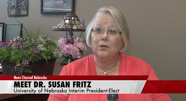 Fritz Poised to Lead as First Woman President of University of Nebraska