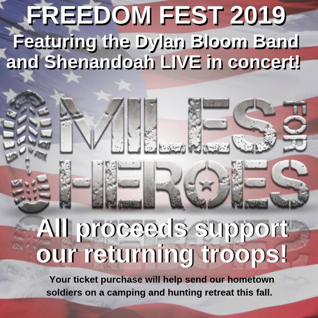 Freedom Fest Returns to Scribner; Ticket Sales Support Veterans Retreat