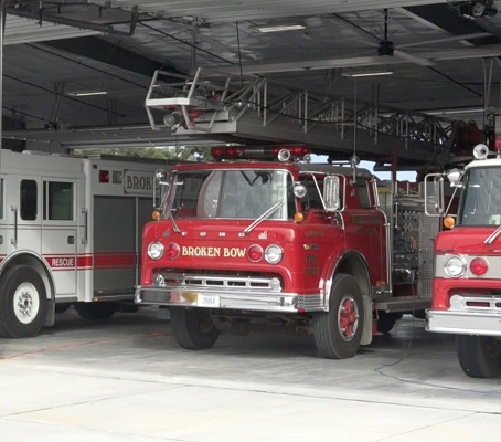 Broken Bow Volunteer Fire Department Golf Scramble and Open House