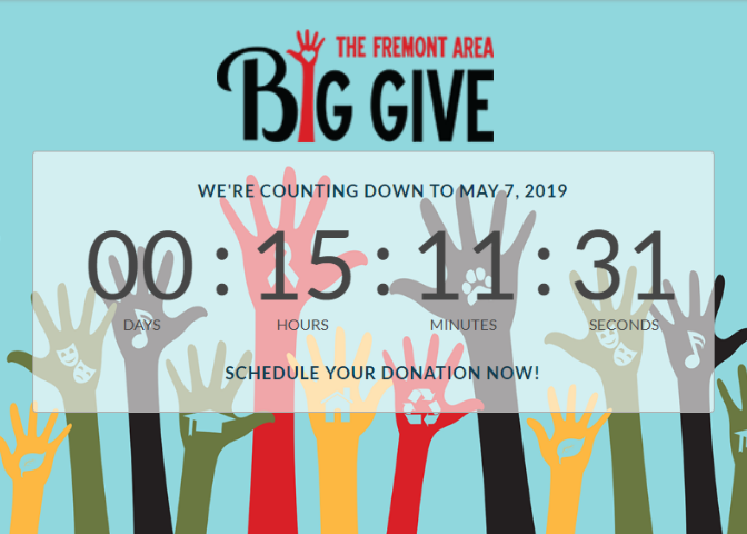 Fremont Area Big Give Tips & Tricks: Special Prizes, Schedule Donations & More