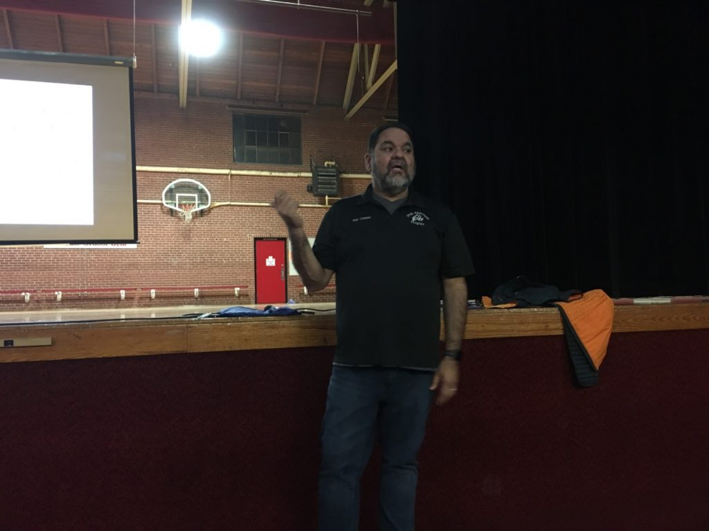 Ray Lozano Shares Message of Positive Prevention with Local Students