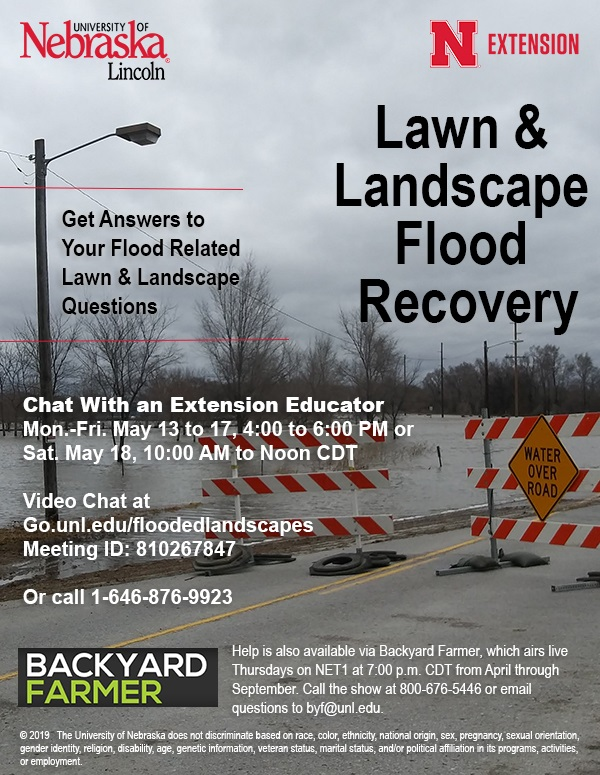 Time Winding Down! Get Help From The Nebraska Extension On Fixing That Flooded Lawn