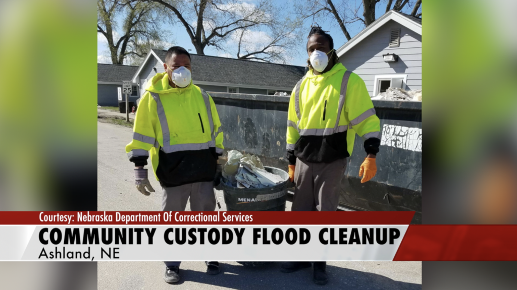 Community Custody Crew Aids In Flood Cleanup