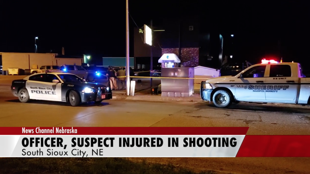 South Sioux City police officer, suspect injured in gunfight