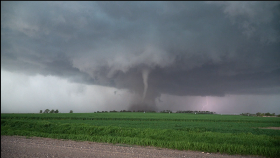 WATCH: Stunning Video of a Tornado Near Farnam, NE