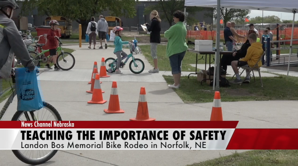 12th Annual Landon Bos Memorial Bike Rodeo Held in Norfolk