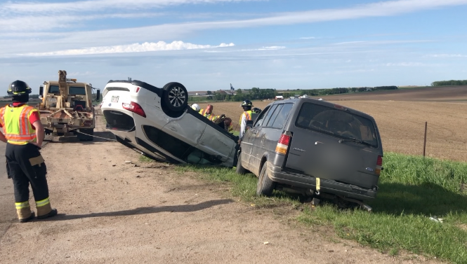 Six injured in accident near 81/20 junction