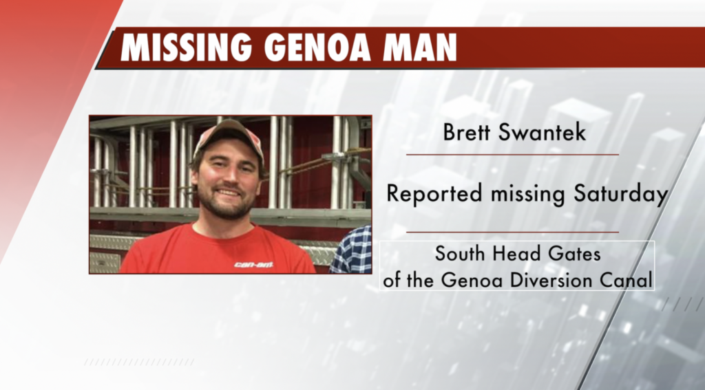 Search continues for missing volunteer firefighter in Genoa