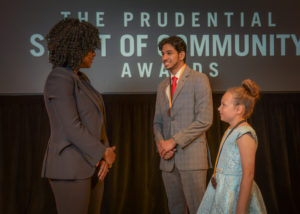 Two Nebraska youth, including Beatrice elementary student, honored at national award ceremony in Washington, D.C.