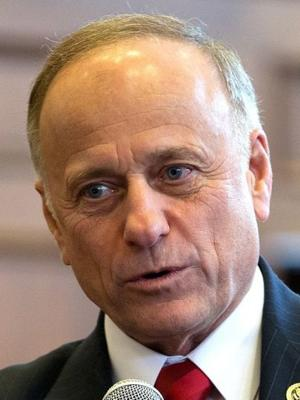 Rep. Steve King's press conference on illegal immigration gets testy and colorful