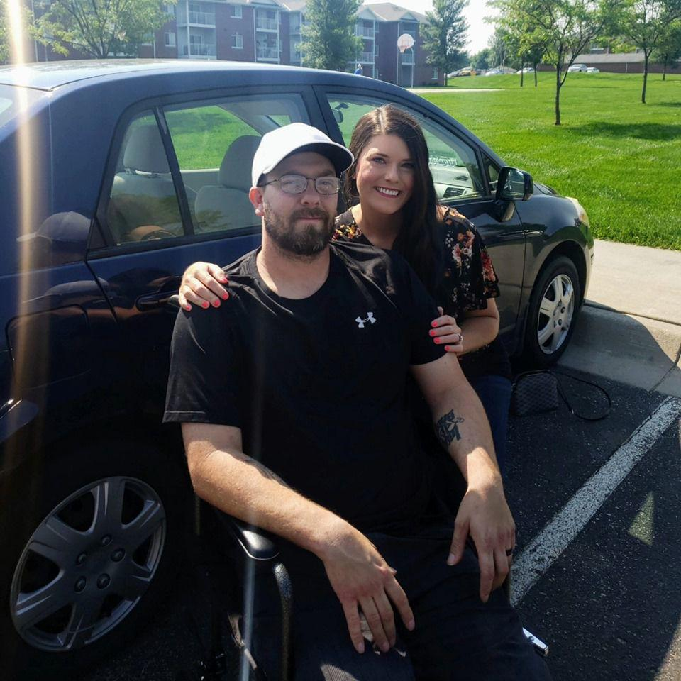Lincoln man critically injured in racetrack crash returns home
