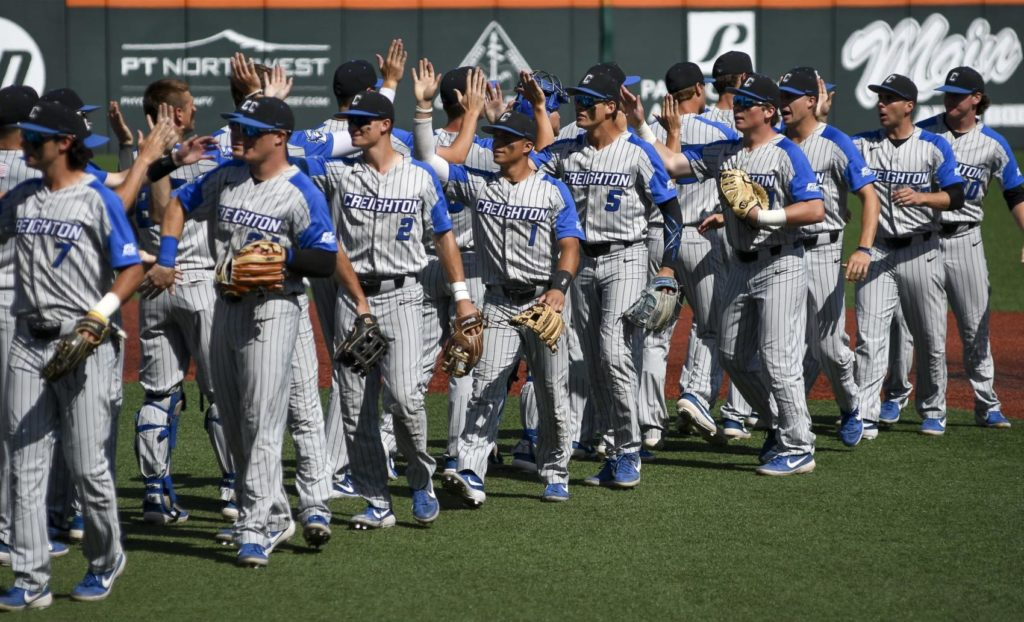Ninth-inning rally lifts Creighton to 11-7 win over Michigan, forces a second regional final game