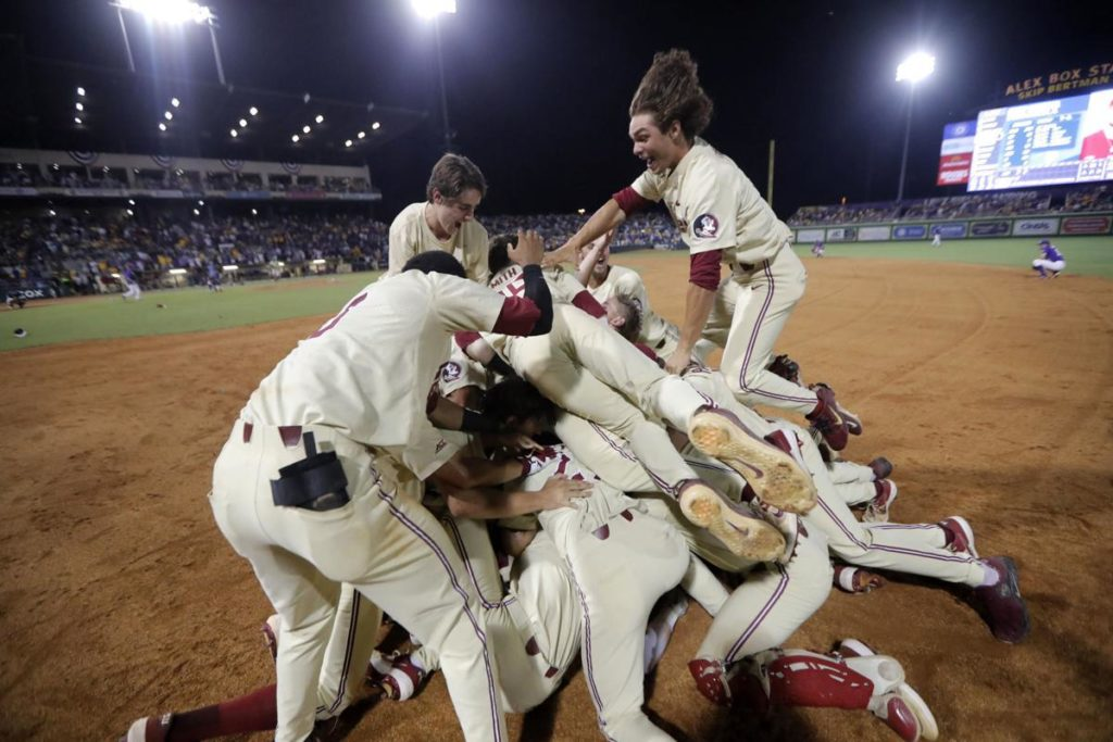 Florida State coach Mike Martin's career will end in Omaha, and he may take home a national title