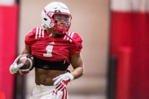 Husker freshman Wan'Dale Robinson cited on suspicion of marijuana possession
