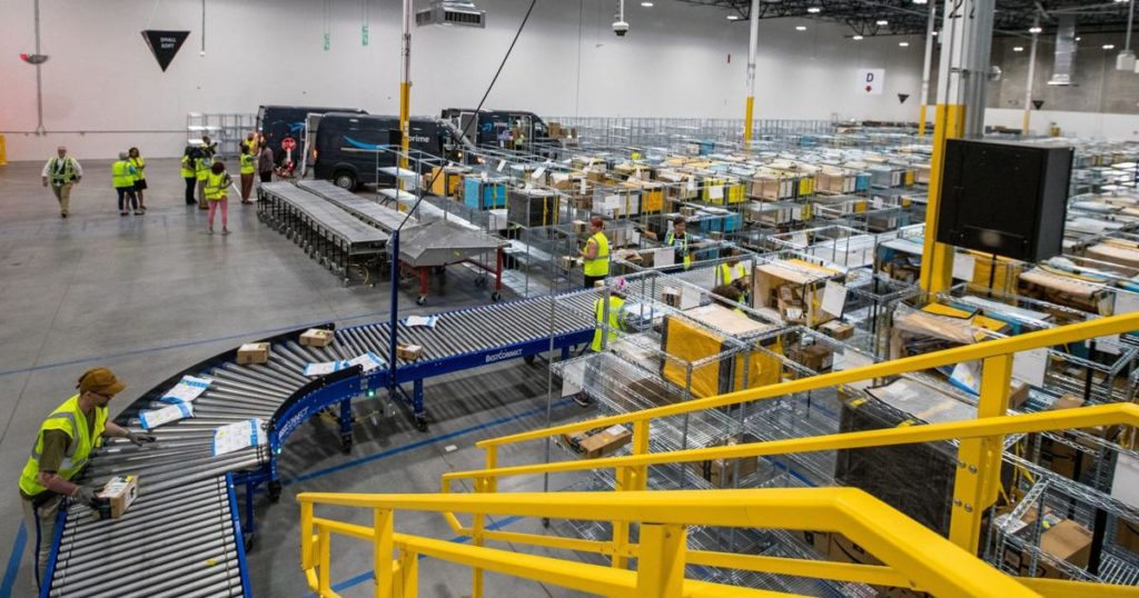 Amazon's Sarpy County facility is part of its plan to deliver your packages faster
