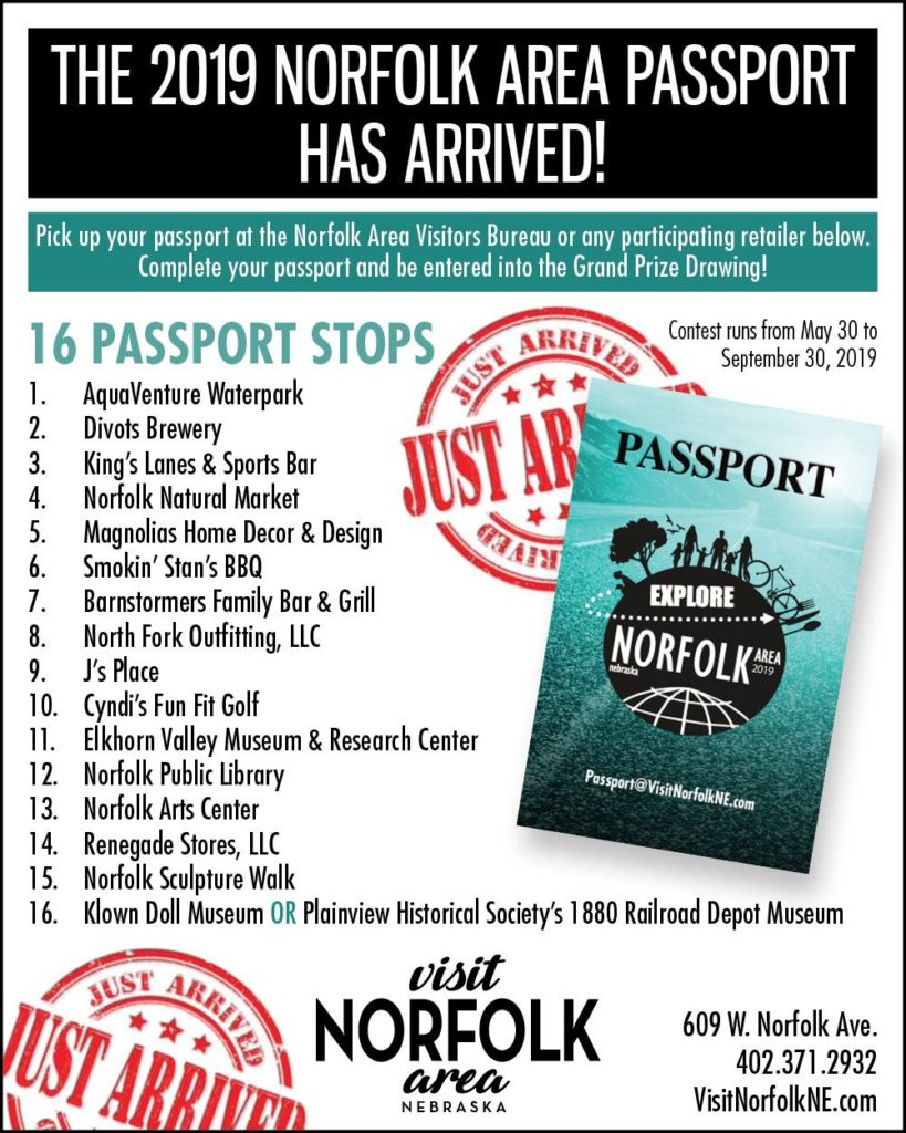 Experience Norfolk's very own passport program