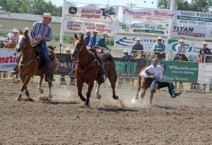 Nebraska State High School Rodeo Finals - Results - 1st go
