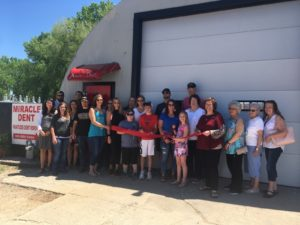 Miracle Dent Welcomed to Broken Bow Chamber of Commerce