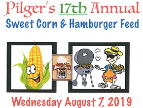 17th Annual Pilger Sweet Corn And Hamburger Feed Happening Wednesday, August 7th