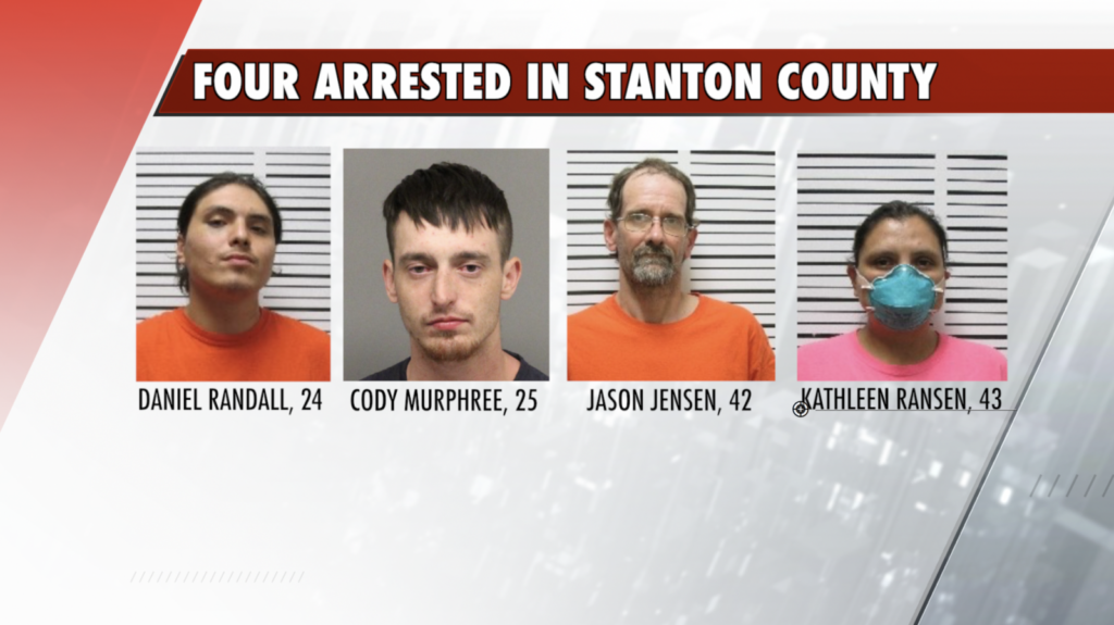 Four Arrested In Stanton County