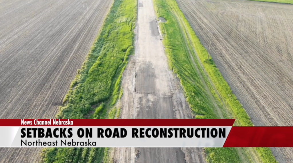 Wet weather sets back road repairs