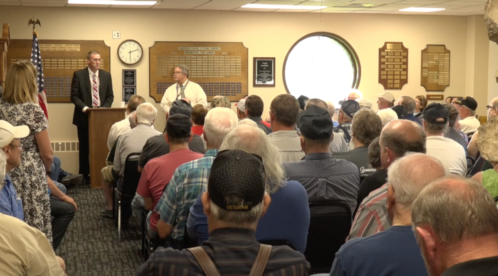 VA Holds Town Hall Meeting In Norfolk