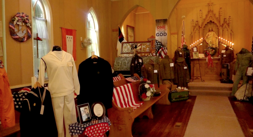 A Little Piece of History: Military Uniform Display at the Winside Museum