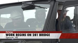 Construction Begins on Highway 281 Bridge