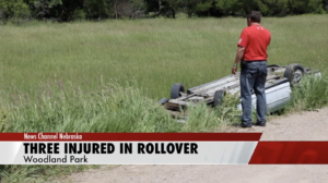 Three Injured In Stanton County Rollover
