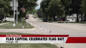 Flag capital celebrates Flag Day