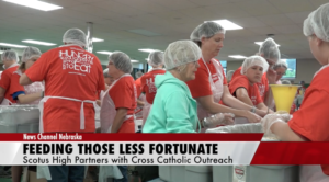 Cross Catholic partners with Scotus Catholic for charity