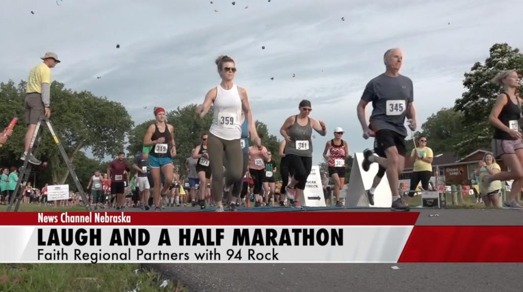 Faith Regional benefits from laugh and a half marathon