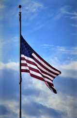 Flags at Half Staff for Virginia Beach Tragedy