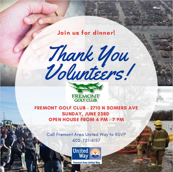 Fremont Golf Club Invites Flood Volunteers to Thank-You Dinner