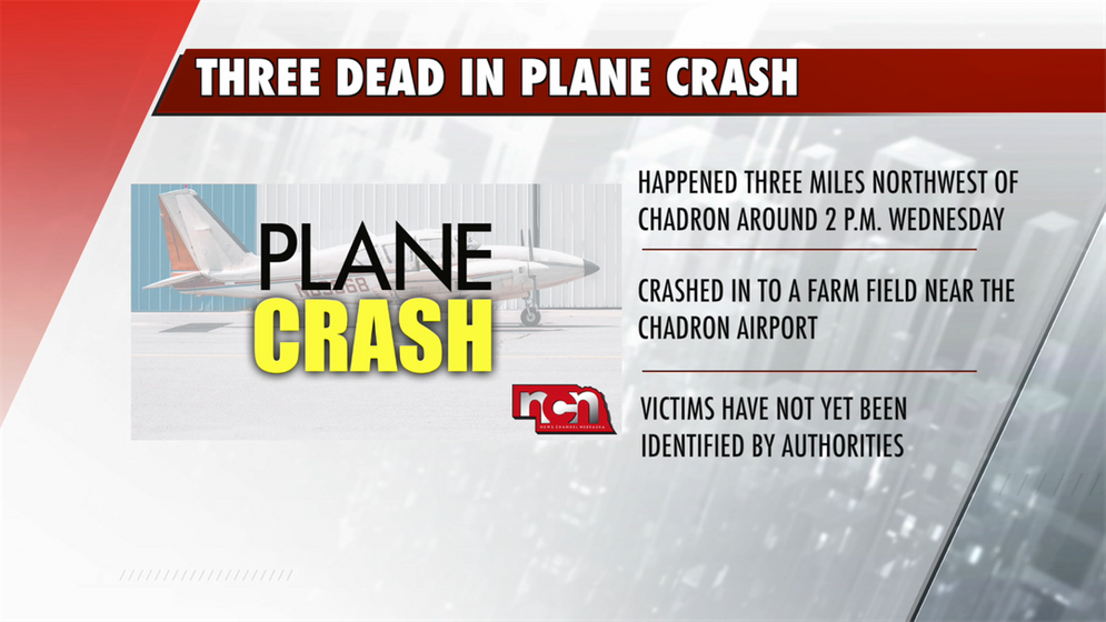 UPDATE: Three are dead in Chadron plane crash