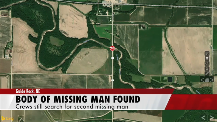 Body Of One Of The Missing Men From Guide Rock Found; Search For The Second Man Continues