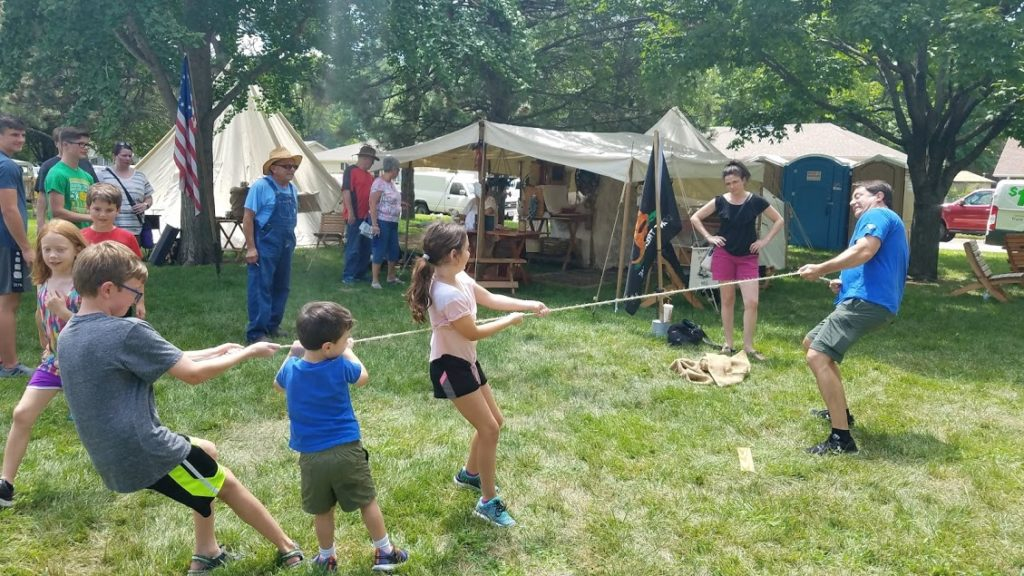 Cannon Fire, Combat and Camps: Clemmons Park Living History During JCF Days