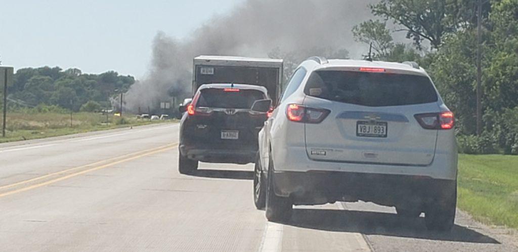 Vehicle Fire On Hwy 92 On Platte River Bridge