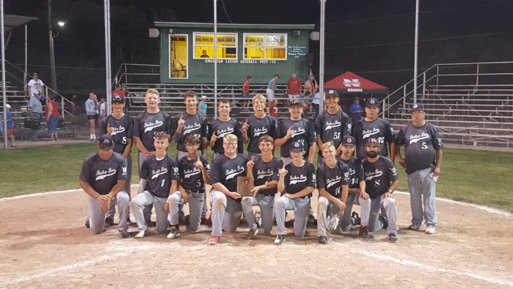Broken Bow Juniors Baseball Team – AREA TOURNAMENT CHAMPIONS!!!!
