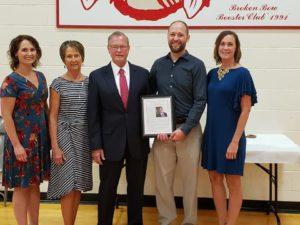 Jerry Adams Appreciative of Broken Bow Following Alumni Award
