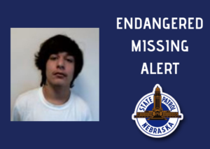 NSP Activates Missing-Endangered Alert for Omaha Area Teen