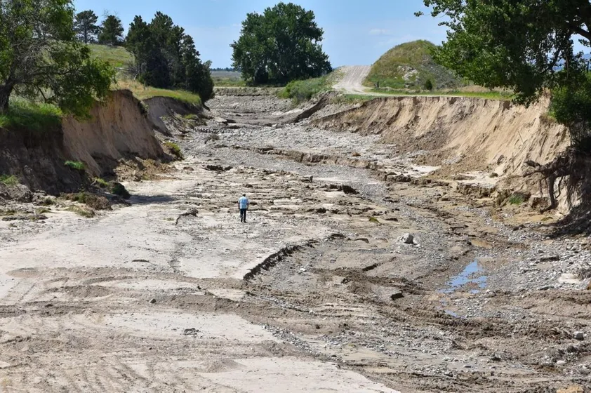 Gov. Pete Ricketts Declares Emergency In Panhandle After Major Irrigation Tunnel Collapses