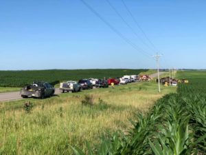 One Fatality Following a Two-Vehicle Accident West of Merna