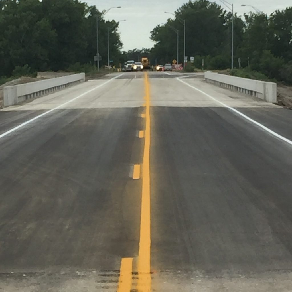 West Center Road / Hwy 275 Bridge Reopens After 139 Days
