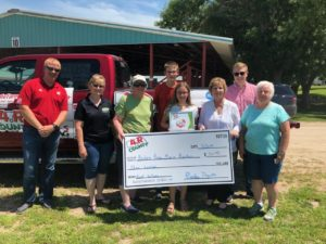 Another $300 donated with 4 R County promotion